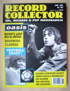 Record Collector - Liam Gallagher cover (June 1996 - Issue 202)