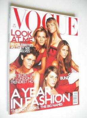 <!--2001-01-->British Vogue magazine - January 2001