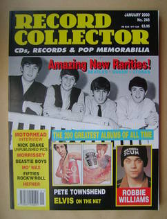 Record Collector - The Beatles cover (January 2000 - Issue 245)