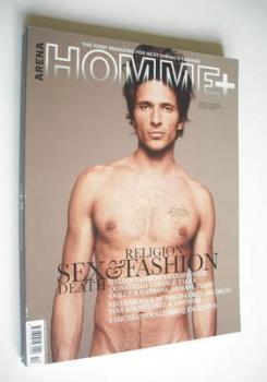 Arena Homme Plus magazine (Winter/Spring 2005/2006 - Andres Velencoso cover)