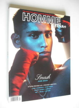 <!--2004-09-->Arena Homme Plus magazine (Autumn/Winter 2004/2005 - Amir Khan cover)