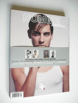 <!--2003-09-->Arena Homme Plus magazine (Autumn/Winter 2003/2004 - Tobey Maguire cover)