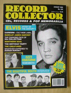 Record Collector - Elvis Presley cover (August 1999 - Issue 240)
