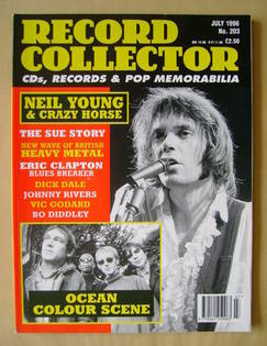 Record Collector - Neil Young cover (July 1996 - Issue 203)