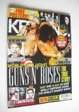 <!--2012-05-19-->Kerrang magazine - Guns n' Roses cover (19 May 2012 - Issu