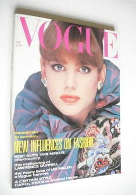 <!--1985-11-->British Vogue magazine - November 1985 (Vintage Issue)