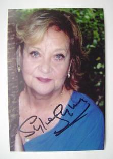 Sylvia Syms autograph