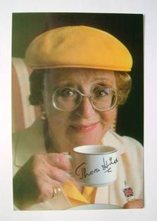 Thora Hird autograph
