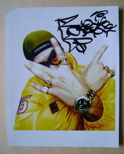 Ali G (Sacha Baron Cohen) autograph