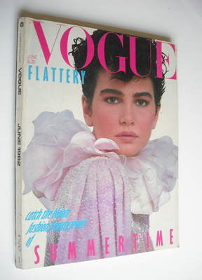 <!--1982-06-->British Vogue magazine - June 1982 (Vintage Issue)