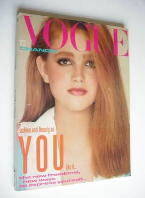 <!--1982-04-->British Vogue magazine - April 1982 (Vintage Issue)