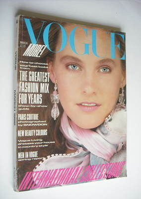 <!--1982-03-->British Vogue magazine - March 1982 (Vintage Issue)