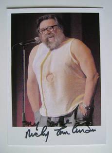 Ricky Tomlinson autograph