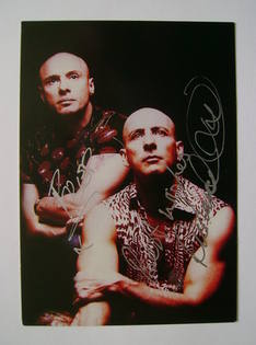Right Said Fred autographs