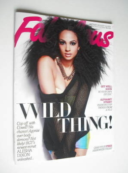 Fabulous magazine - Alesha Dixon cover (6 May 2012)