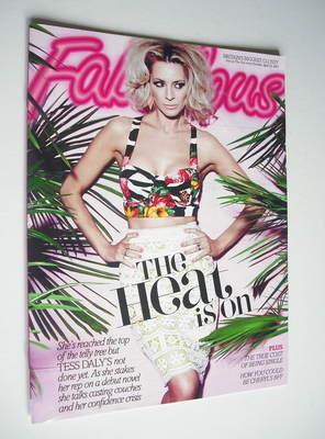 <!--2012-04-22-->Fabulous magazine - Tess Daly cover (22 April 2012)