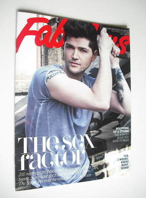 <!--2012-04-15-->Fabulous magazine - Danny O'Donoghue cover (15 April 2012)