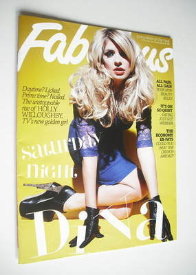 <!--2012-03-25-->Fabulous magazine - Holly Willoughby cover (25 March 2012)