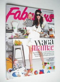 Fabulous magazine - Danielle Lloyd cover (18 March 2012)