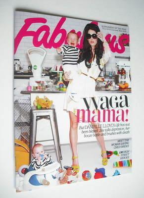 <!--2012-03-18-->Fabulous magazine - Danielle Lloyd cover (18 March 2012)