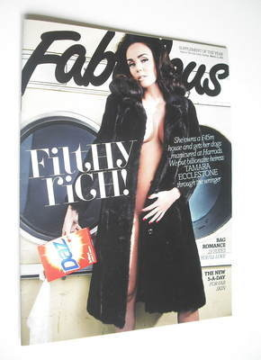 <!--2012-03-11-->Fabulous magazine - Tamara Ecclestone cover (11 March 2012