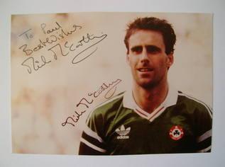 Mick McCarthy autograph