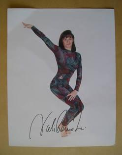 Nadia Comaneci autograph