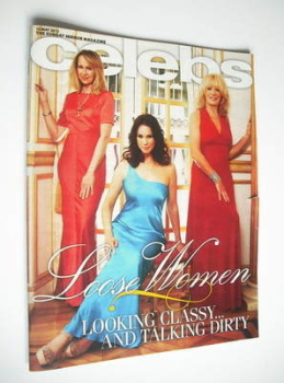 Celebs magazine - Loose Women cover (13 May 2012)