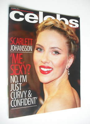 <!--2012-04-29-->Celebs magazine - Scarlett Johansson cover (29 April 2012)