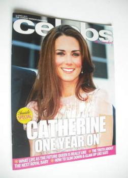Celebs magazine - Kate Middleton cover (22 April 2012)