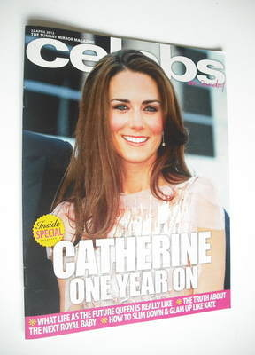 <!--2012-04-22-->Celebs magazine - Kate Middleton cover (22 April 2012)