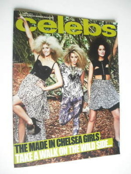 Celebs magazine - The Made In Chelsea Girls cover (1 April 2012)