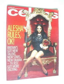Celebs magazine - Alesha Dixon cover (25 March 2012)