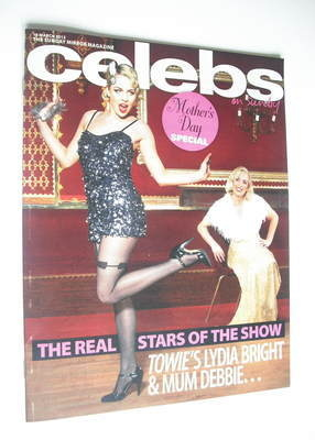 <!--2012-03-18-->Celebs magazine - Lydia Bright cover (18 March 2012)