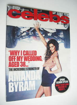 <!--2012-03-04-->Celebs magazine - Amanda Byram cover (4 March 2012)