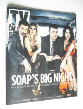 TV Buzz magazine - Soap's Big Night cover (28 April 2012)