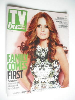 TV Buzz magazine - Patsy Palmer cover (14 April 2012)