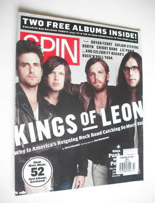 Spin magazine - Kings Of Leon cover (November 2010)