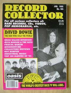Record Collector - David Bowie cover (January 1995 - Issue 185)