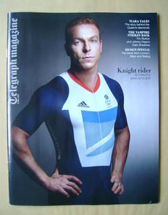 <!--2012-05-05-->Telegraph magazine - Sir Chris Hoy cover (5 May 2012)