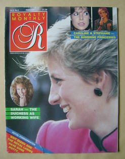 <!--1987-02-->Royalty Monthly magazine - Princess Diana cover (February 198