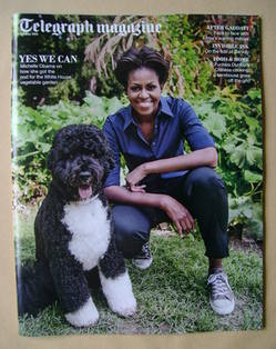 <!--2012-05-19-->Telegraph magazine - Michelle Obama cover (19 May 2012)