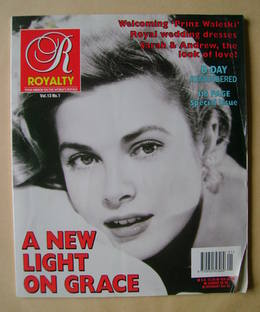 Royalty Monthly magazine - Princess Grace cover (Vol.13 No.1)