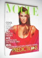 <!--1988-07-->British Vogue magazine - July 1988 - Cindy Crawford cover