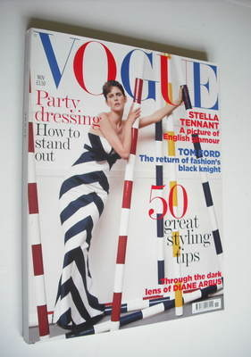<!--2005-11-->British Vogue magazine - November 2005 - Stella Tennant cover