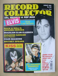 Record Collector - Elvis Presley cover (August 2000 - Issue 252)