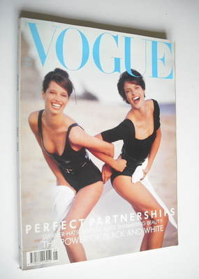 <!--1990-05-->British Vogue magazine - May 1990 - Linda Evangelista and Chr