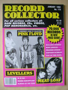 Record Collector - Pink Floyd cover (January 1994 - Issue 173)