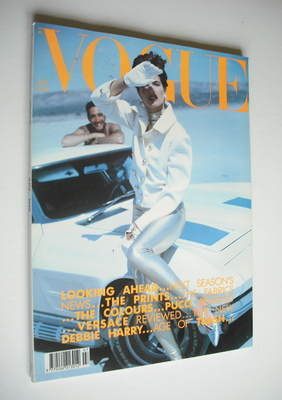 <!--1990-07-->British Vogue magazine - July 1990 - Stephanie Seymour cover