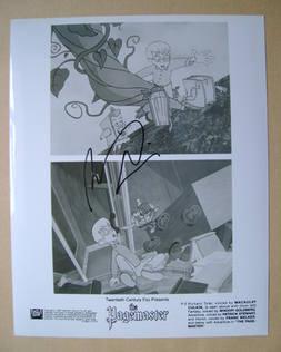 Macaulay Culkin autograph